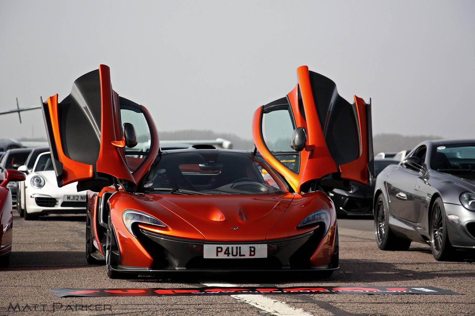Volcano Orange McLaren P1