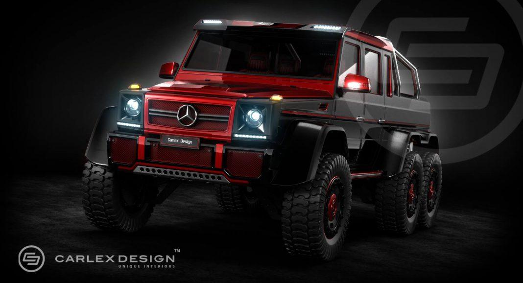 Official: Carlex Design Mercedes-Benz G63 AMG 6x6