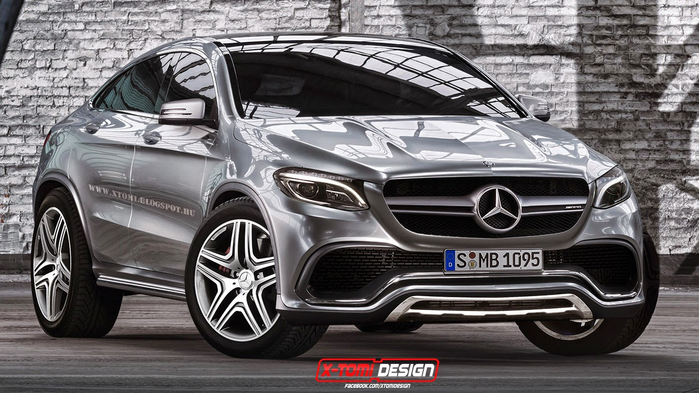 Mercedes benz mlc rendered from concept coupe gtspirit for Mercedes benz suv coupe