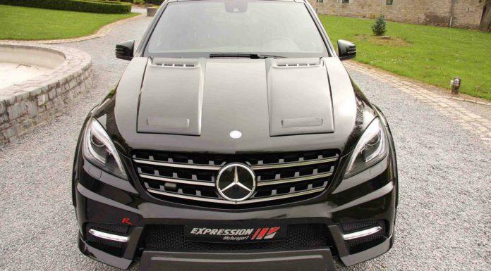 Mercedes-Benz ML 63 wide body R by Expression Motorsport
