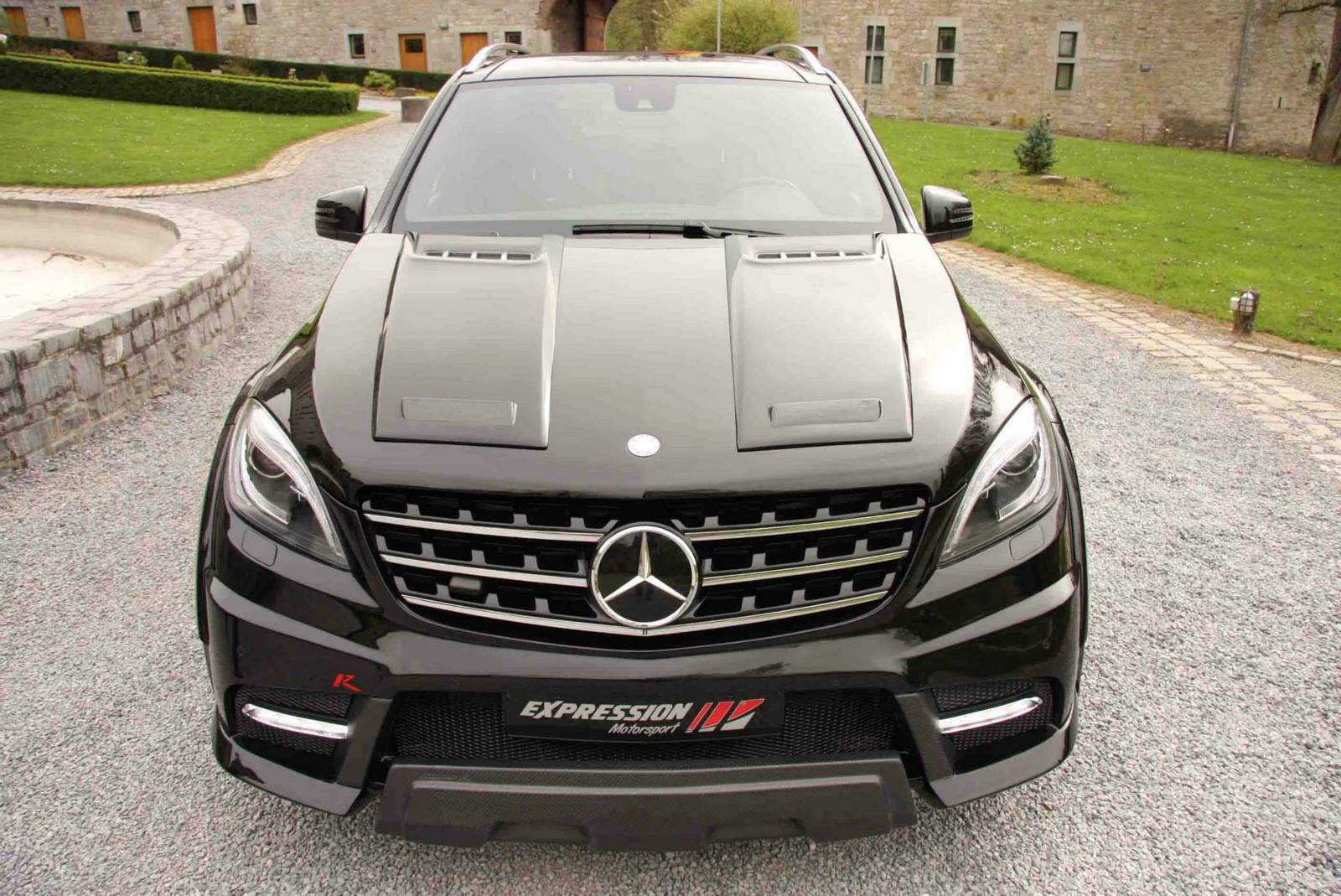 Official mercedes benz ml 63 amg wide body r by for Mercedes benz used body parts