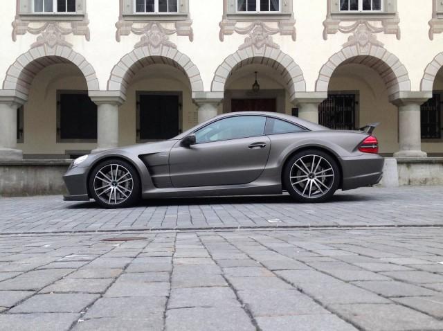 Matt Grey Mercedes-Benz SL65 AMG by Elite Garage