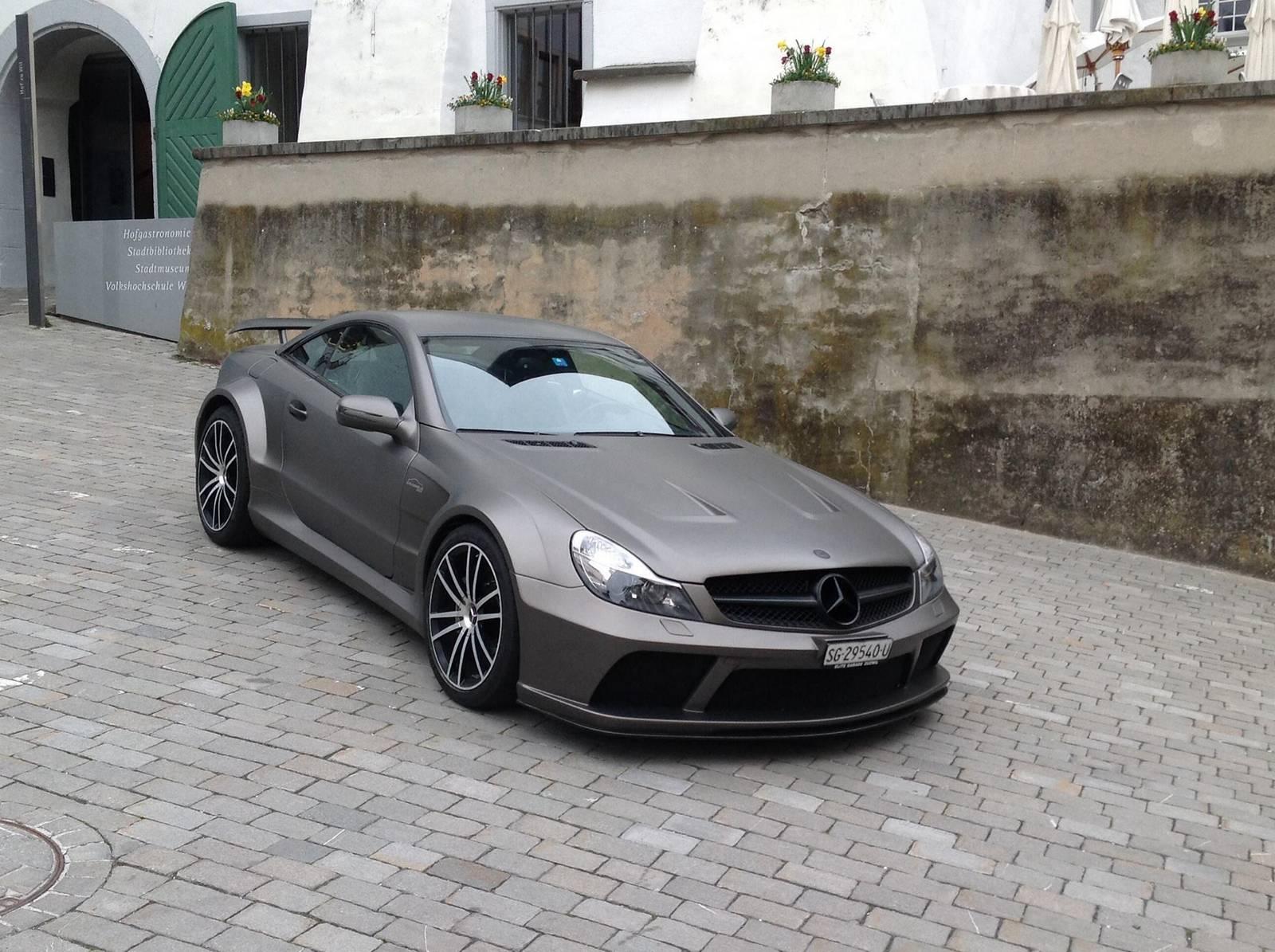 For Sale Stunning Matt Grey Mercedes Benz Sl 65 Amg Black