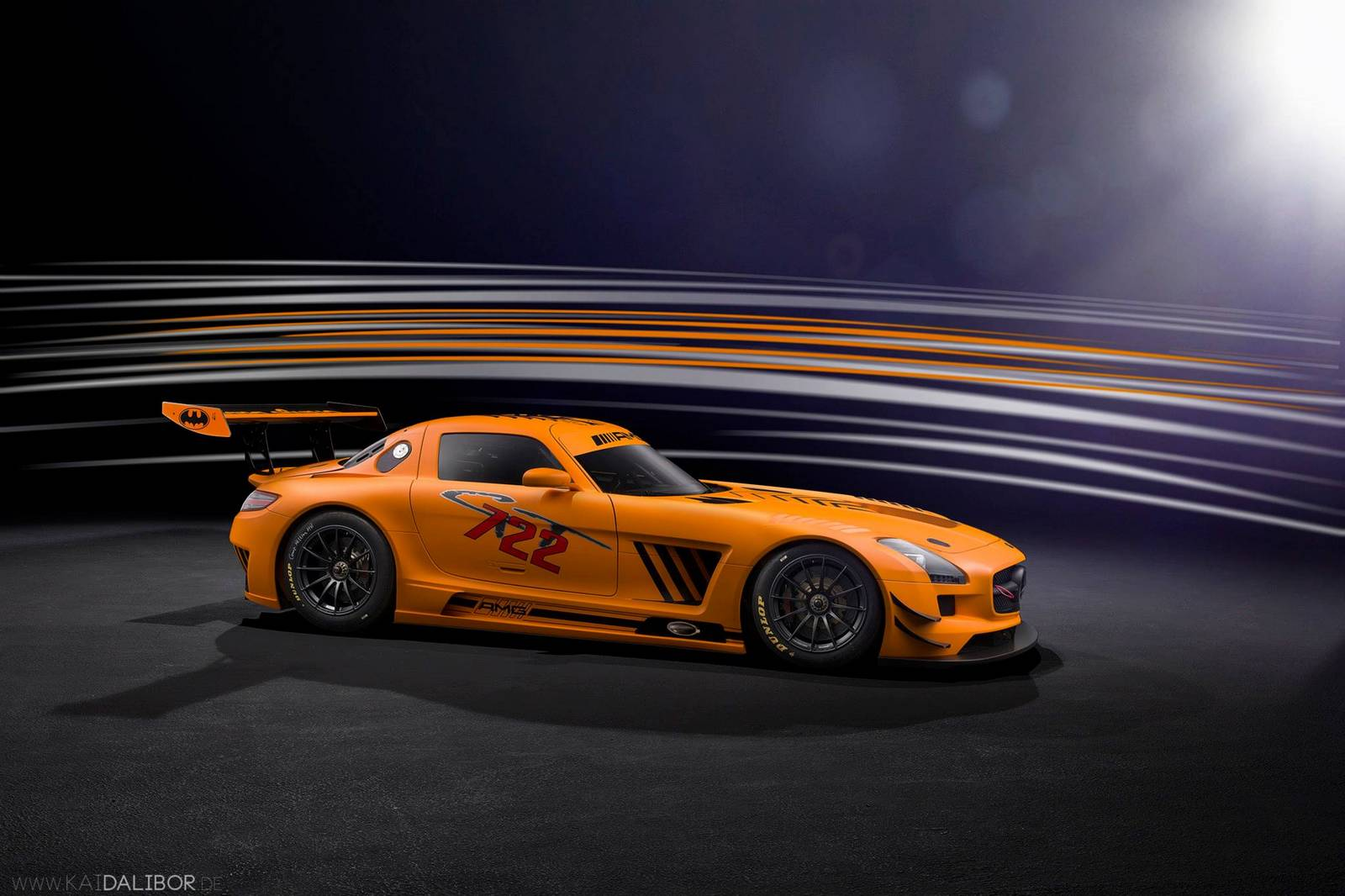 Sievers tuning mercedes benz sls amg gt3 45th anniversary for Mercedes benz sls amg