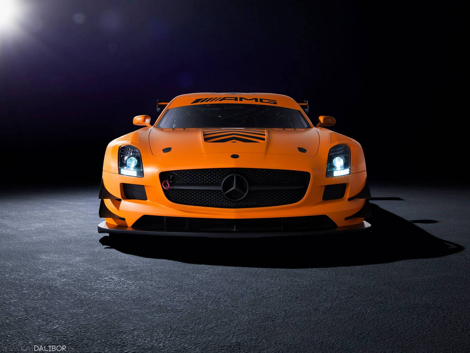 Sievers tuning mercedes benz sls amg gt3 45th anniversary for Mercedes benz gt3