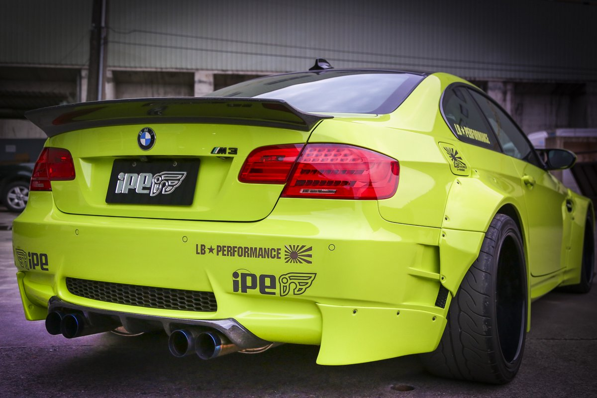 Lime Green Bmw E92 M3 Coupe By Ipe And Liberty Walk Gtspirit