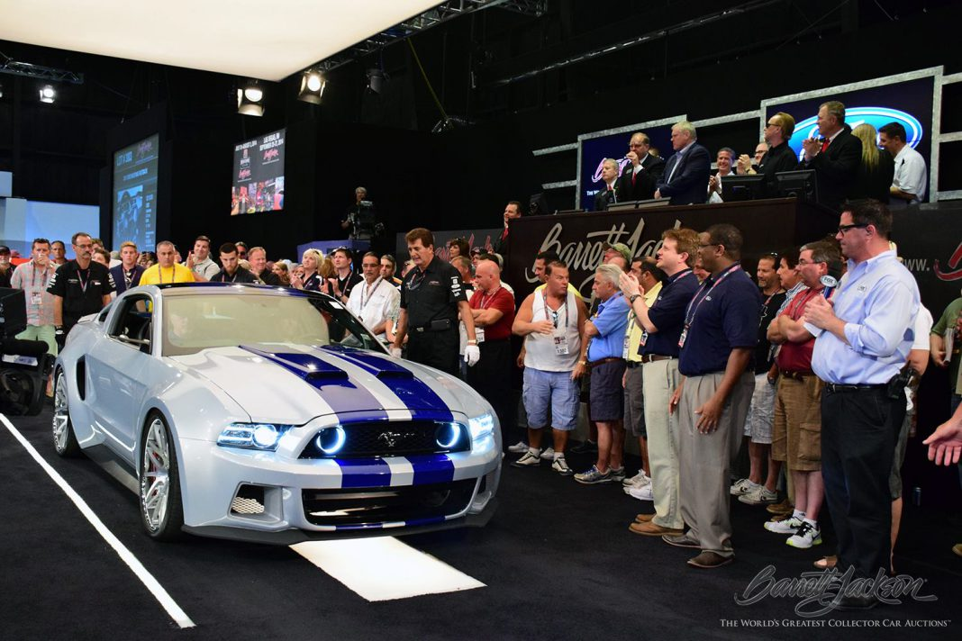 Need For Speed Ford Mustang Auctions for $300,000 at Barrett-Jackson