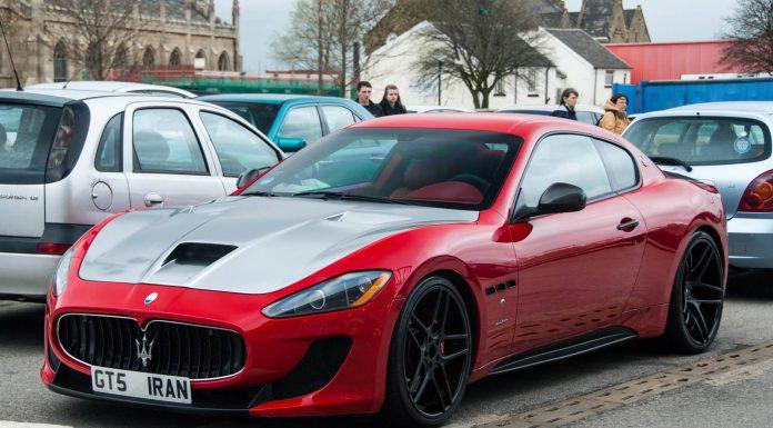 Red Novitec Trident Maserati GranTurismo MC Stradale