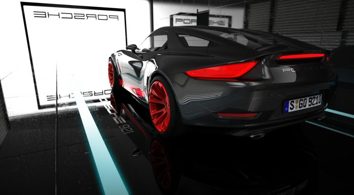 Modern Porsche 928 Rendered as 921 Vision Concept