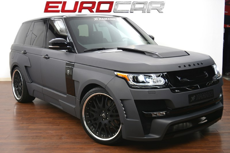 hamann range rover mystere for sale in california gtspirit. Black Bedroom Furniture Sets. Home Design Ideas