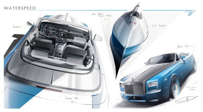 Rolls-Royce Further Previews Upcoming Phantom Drophead Coupe Waterspeed Collection