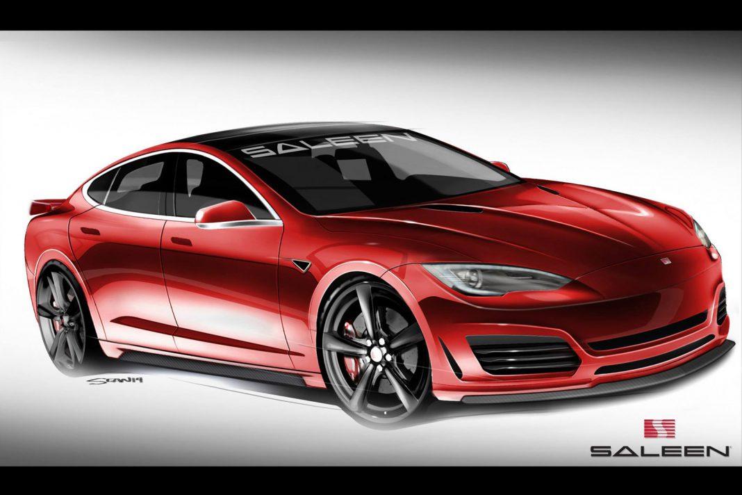 Saleen Previews Modified Tesla Model S