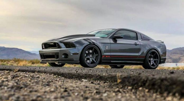 Stealth Shelby Mustang GT500 by TruFiber
