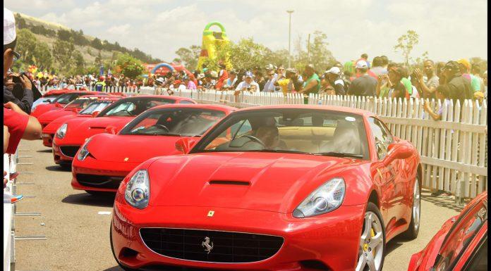 Shell V-Power Nitro Ferrari Event