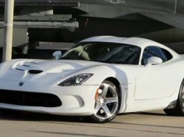 2014 SRT Viper Races F-16 Fighter Jet