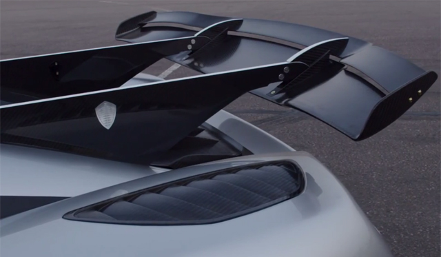 Behind the Koenigsegg One:1s Incredible Active Rear Wing