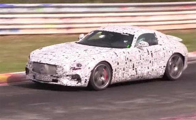 2015 Mercedes-AMG GT Prototype Tackles the Nurburgring