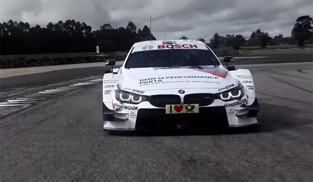 Video: BMW M4 DTM Promo Revealed
