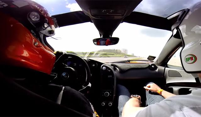 Epic McLaren P1 Onboard Ride at Donnington Park