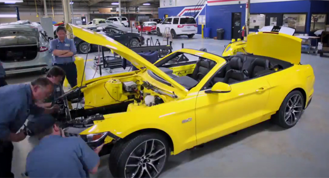 Video: How Ford Will Build a Mustang on the Empire State Building