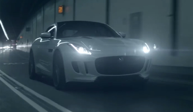 Jaguar F-Type Coupe Stars In New 'The Art of Villiany' Commercial