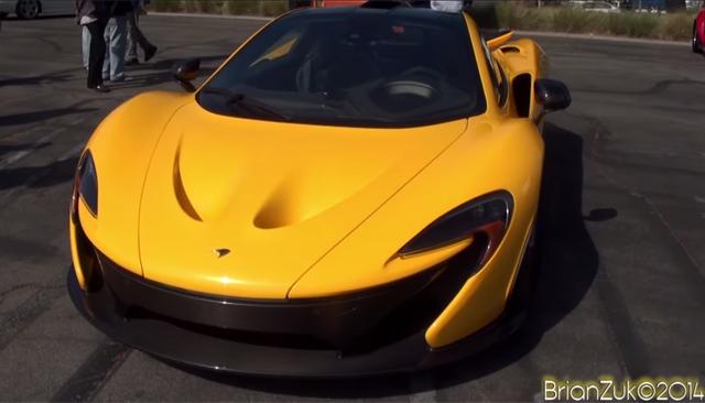 Video: Jay Leno Brings Along McLaren P1 to Supercar Sunday