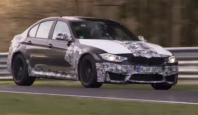 Video: 2014 BMW M3 Sounds Brutal on the Nurburgring!