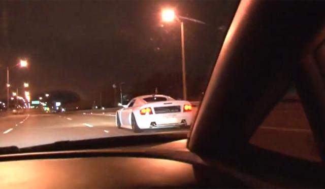 Video: Rosson Q1 and Lamborghini Gallardo Race Is Super Close