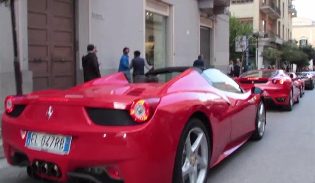 Video: Ferrari 458 Spider vs F430 Rev Battle!
