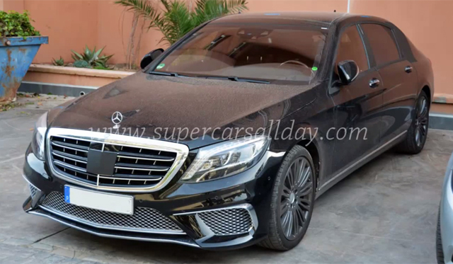 Long-Wheelbased Mercedes-Benz S 65 AMG Spied