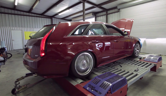 Hennessey Performance Video: 1200hp Cadillac CTS-V by Hennessey Hits