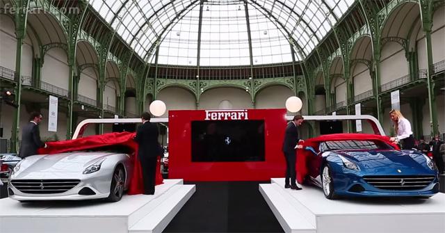 Ferrari California Make French Debut at Grand Palais