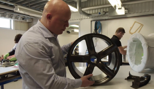 Video: How the Koenigsegg One:1's Carbon Fiber Wheels are Made