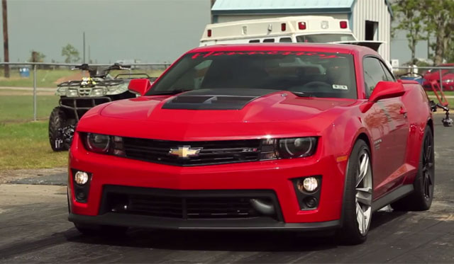 Video: 1/4 Mile Testing 1000hp Chevrolet Camaro by Hennessey Performance