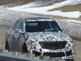 Hear the 2015 Cadillac CTS-V Roar During Testing