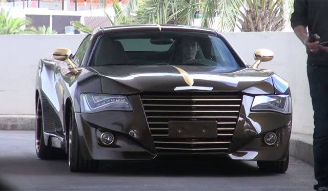 Overkill: Audi and AMG Inspired Chrysler Crossfire by FB-ONE