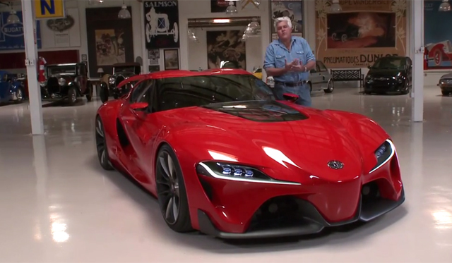Jay Leno Gets Exclusive Tour of Toyota FT-1