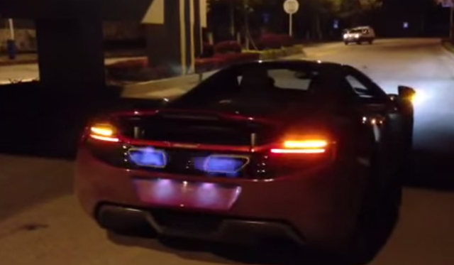 Video: McLaren 12C Roars and Spits Fire With Armytrix Exhaust
