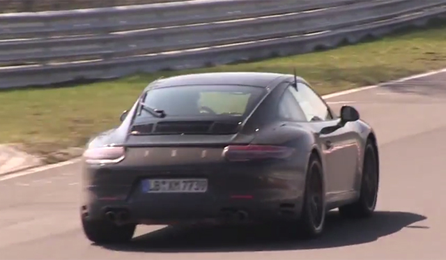 Is This Porsche's New Turbo Flat-Four Testing at the Nurburgring?