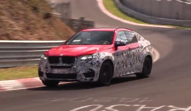 Video: Next-Generation 2015 BMW X6 M Tests at the Nurburging