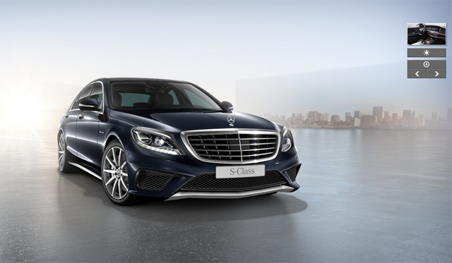 mercedes benz s class configurator launches gtspirit