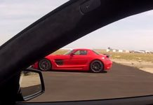Video: Renntech Mercedes-Benz E63 AMG vs Weistec SLS AMG