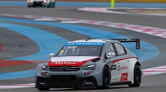 FIA WTCC: Citroen Dominates Race of France Flawless