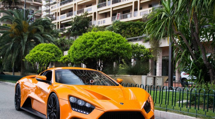 Photo of the Day: Orange Zenvo ST1 in Monaco