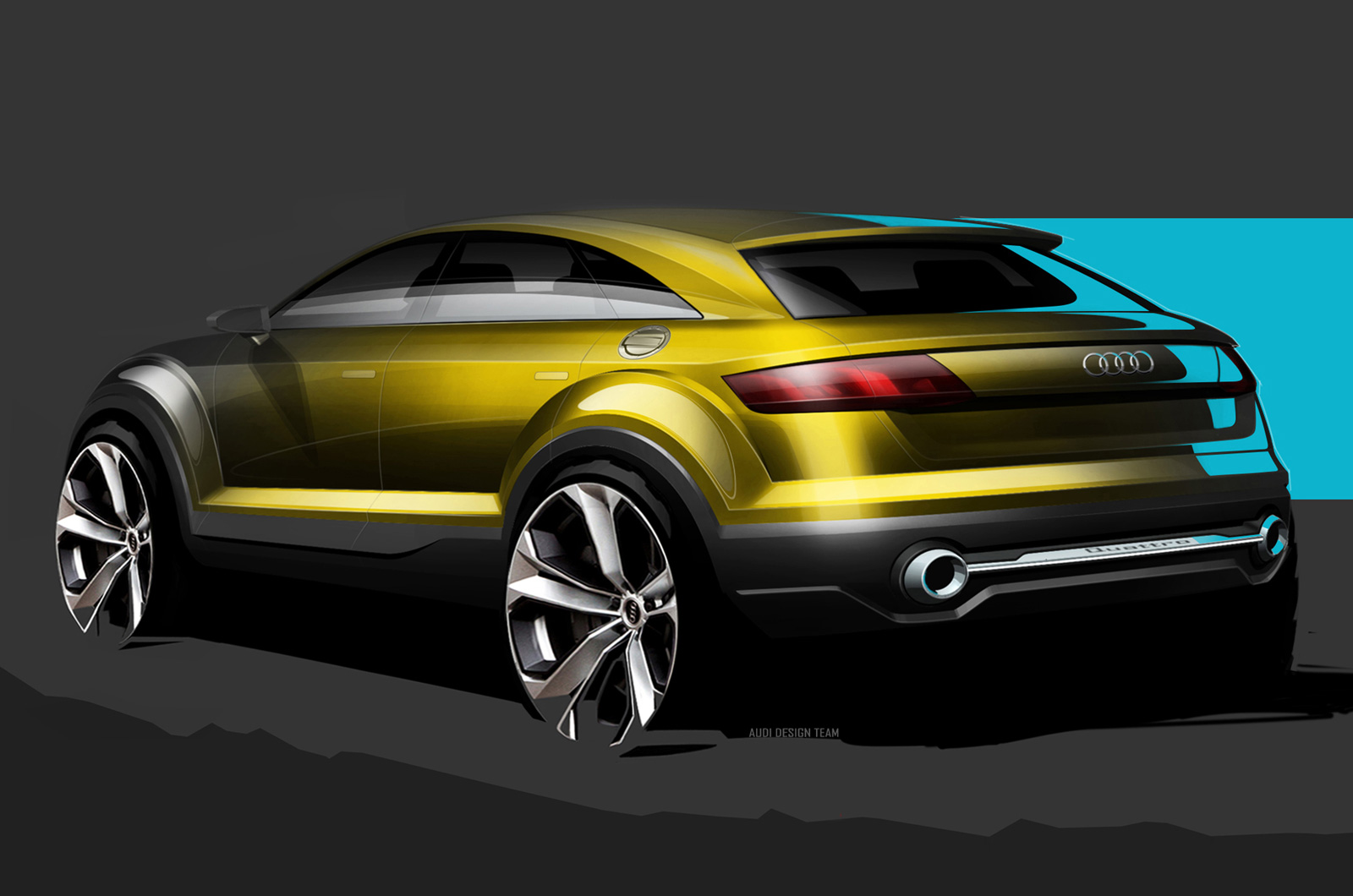 Audi Q4 SUV Concept Previewed Before Beijing Motor Show