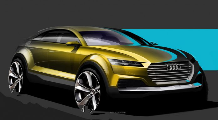 Audi Q4 SUV Previewed Before Beijing Motor Show 2014 Debut
