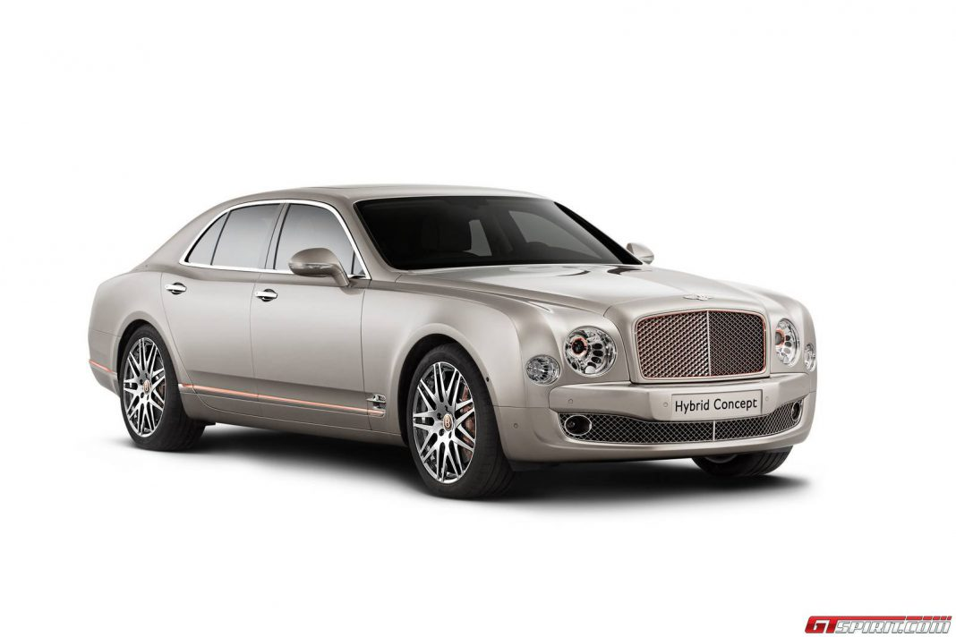 90% of Bentley's to be Offered as Hybrids in 2020
