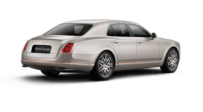Official: Bentley Hybrid Concept