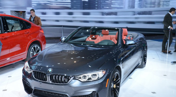 BMW M4 Convertible at the New York Auto Show 2014