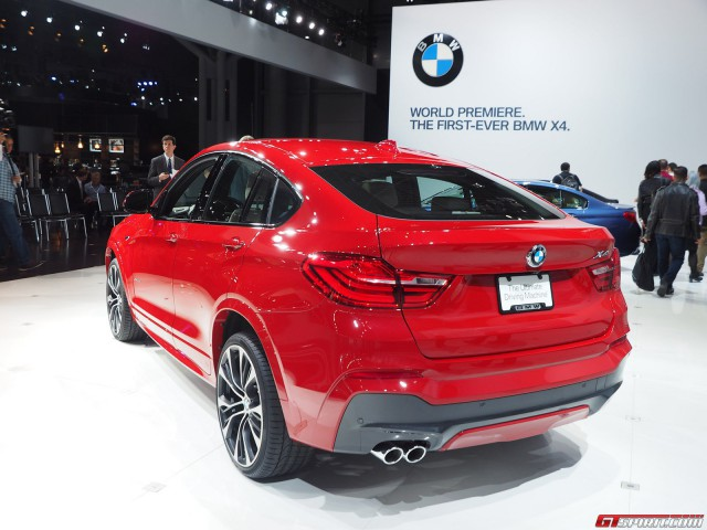 BMW X4 at the New York Auto Show 2014